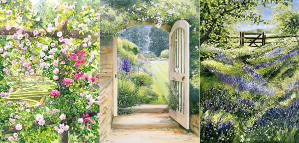 Welcome To Dorothypaveycouk Dorothy Pavey Specialises In Watercolours Of English Gardens Country